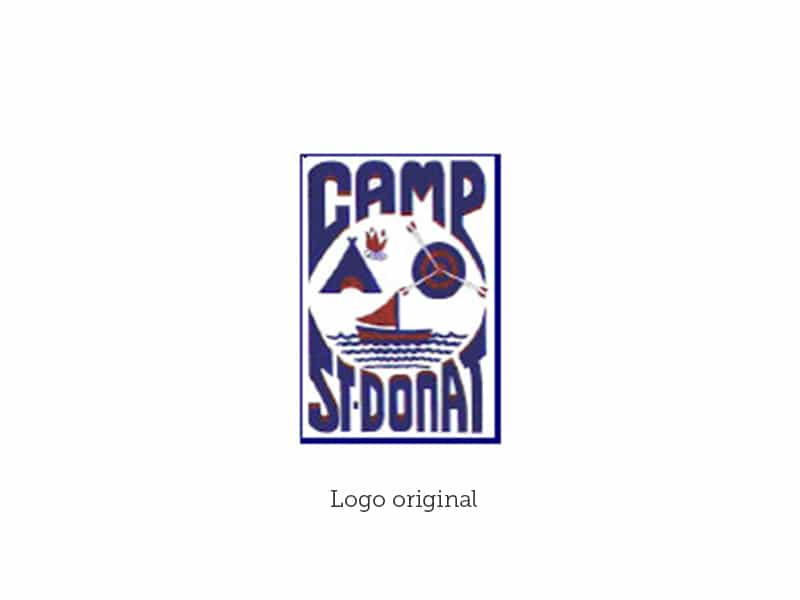 Logo Camp St-Donat original